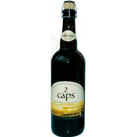 Bière blonde 2 Caps 75cl