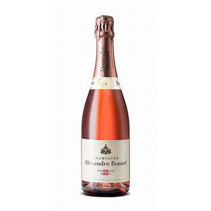 Bouteille de champagne Alexandre Bonnet rosé 75cl