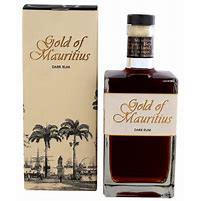 Bouteille de vieux rhum Gold of Mauritius 70cl