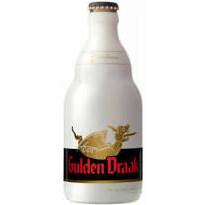 Bouteille de bière brune Gulden Draak 33cl