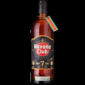 Bouteille de rhum ambré Havana club 7 ans 70cl