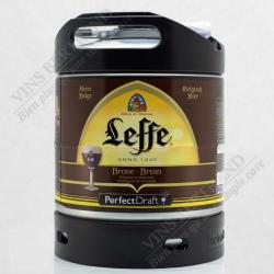 Fût PerfectDraft de bière Leffe Brune 6L