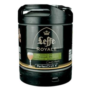 Fût PerfectDraft de bière Leffe Royale Cascade IPA 6L