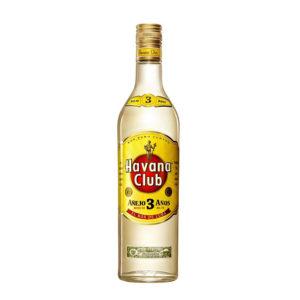 Bouteille de rhum blanc Havana 3ans 70cl
