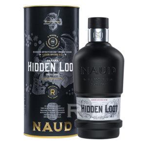 Bouteille de rhum spiced Hidden Loot 70cl