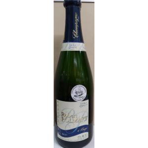 Bouteille de champagne Robert Polmar brut AOP 75cl