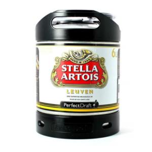 Fût PerfectDraft de bière Stella Artois 6L