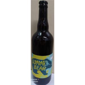 Bouteille de bière d'Été Summer Bear Denali 75cl