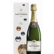 Bouteille de champagne Tattinger brut cuvée Prestige AOP 75cl