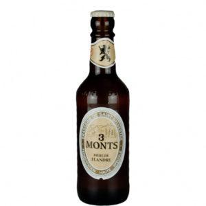 Bouteille de bière blonde 3 Monts 33cl